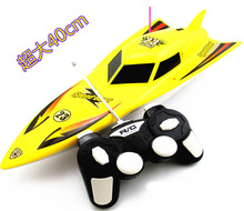 Children electric toy boat Wireless remote control boat(China (Mainland))