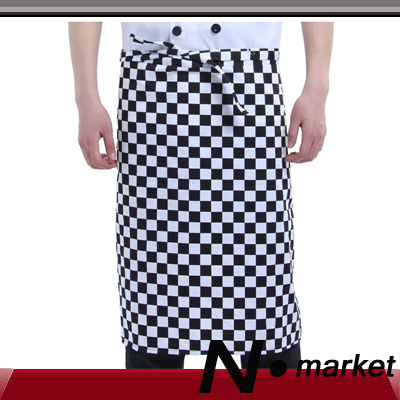 2014 Hot sale free shipping chef apron fashion cotton kitchen apron for men apron cooking(China (Mainland))