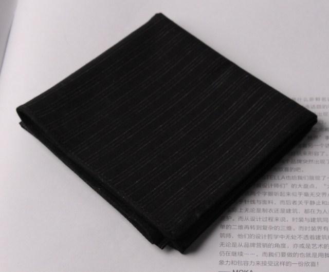 100% black cotton handkerchief 100% cotton handkerchief male handkerchief