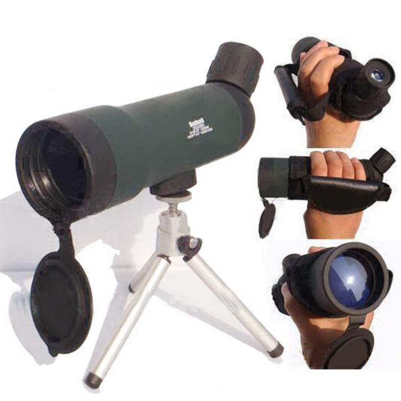 Top Quality 20x50 Zoom HD Monocular Outdoor Telescope With Portable Tripod Night Version Spotting Scope HW2050