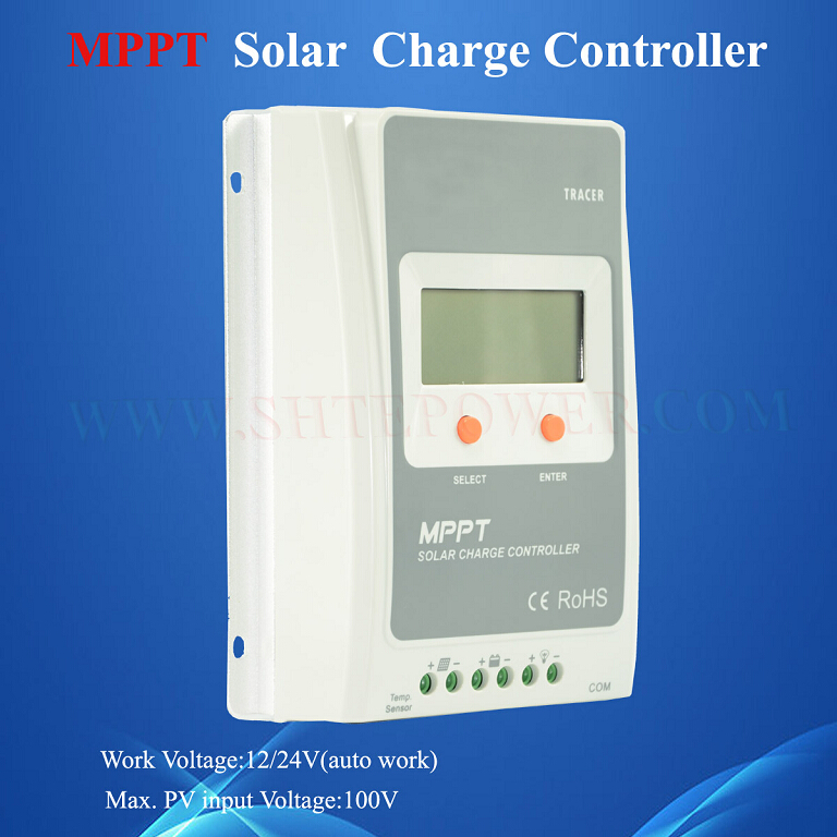max pv input 100v mppt control 12v 10a solar charge controller(China (Mainland))