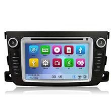 Бесплатная доставка DVD GPS навигации система радио для Benz Smart Fortwo 2012 2013 Bluetooth gps-rds рулевое управление
