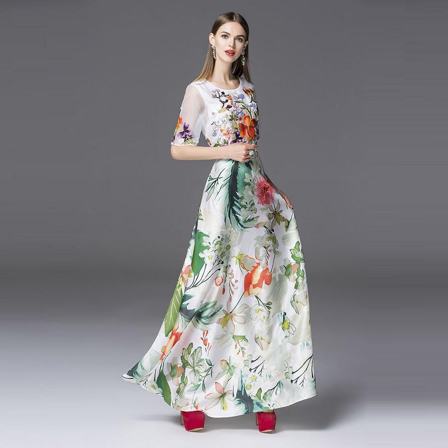 Long Spring Dresses for Women | Dress images