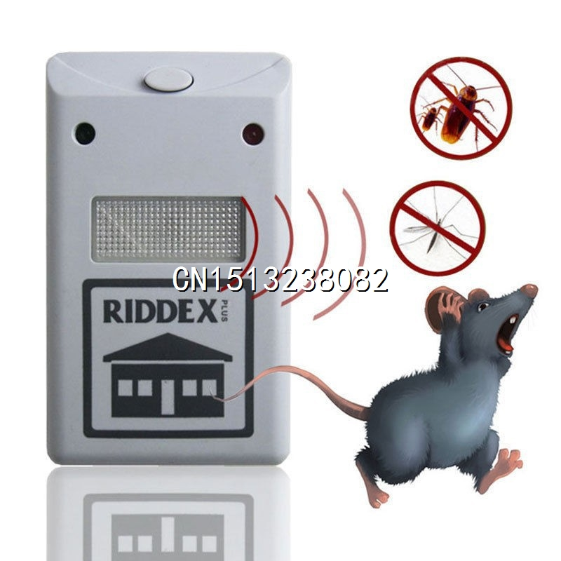 new 220V Ultrasonic Riddex Plus Electronic Pest Rodent Repeller repelente eletronico HOT SALE(China (Mainland))
