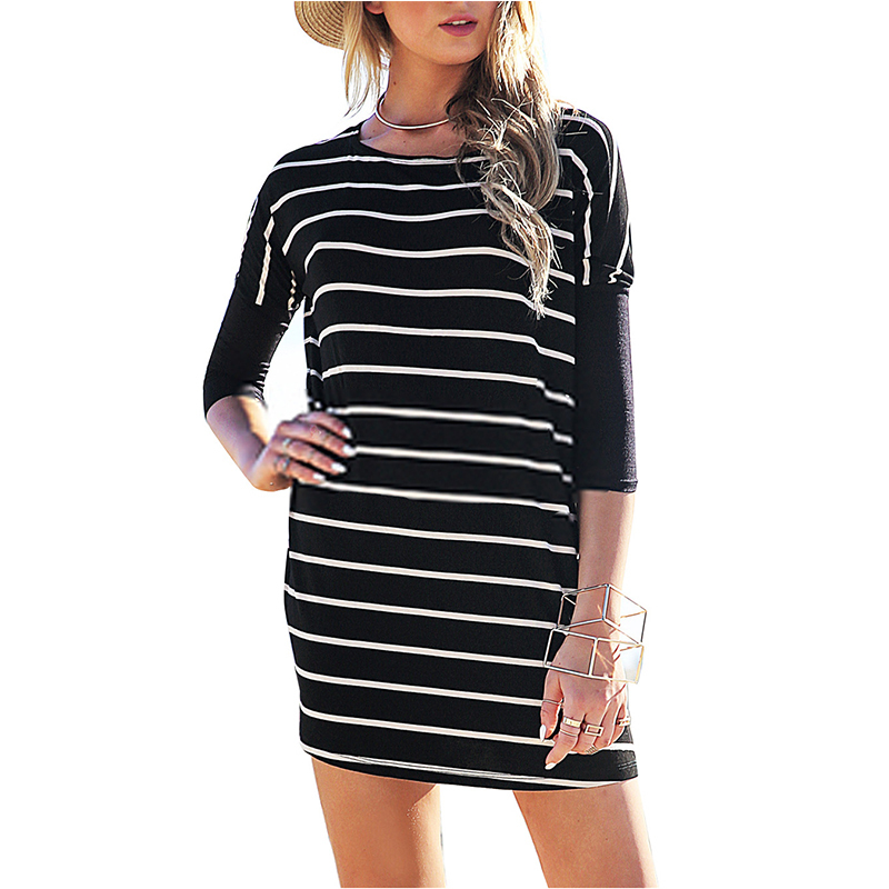 Fantastic Asos Tshirt Dress With High Neck In White  Lyst