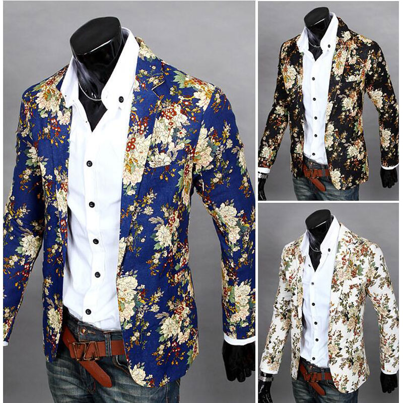 BLUE FLORAL MODERN FASHION STYLISH BLAZER RYUEP2GUQI4A. Find this Pin and more on Men's fashion by Clint Wagner. 6 Priceless Mens Floral Blazer For People 5 Awesome Floral Blazers For Men Who Know Style - dinostuck.