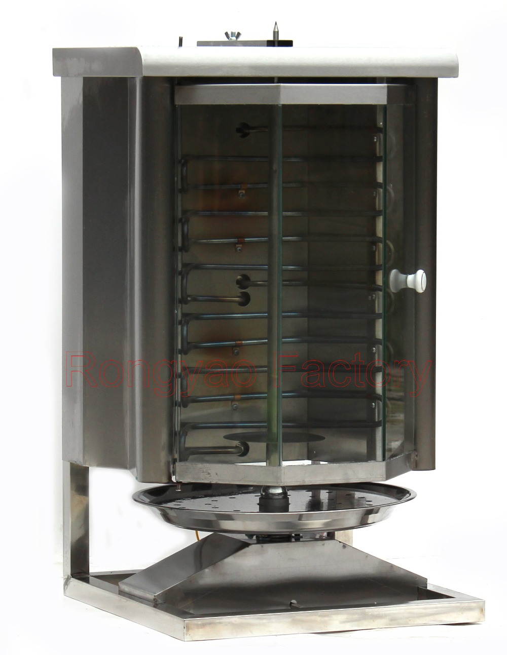 Glass cover Middle East Electric grill Electric supplier vertical broiler BBQ grill Turkish kebab machine/(Hong Kong)