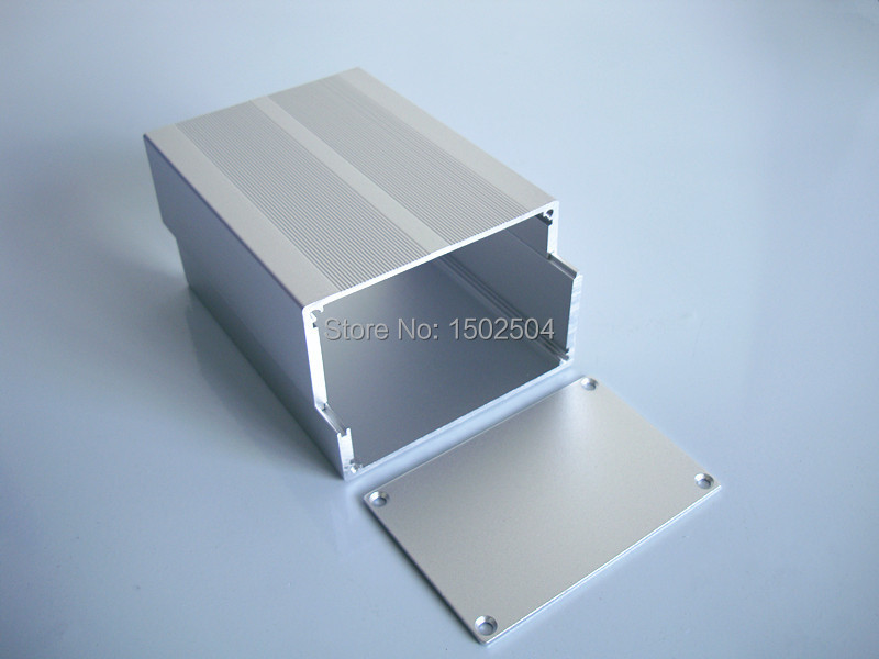 Power case instrument chassis shell Aluminum Enclosure splitted DIY 84*55*110mm NEW.(China (Mainland))