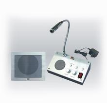 Free Shipping 1Piece 110V / 220V English Version Window Intercom Kit  Dual-way Intercom System For Counter(China (Mainland))