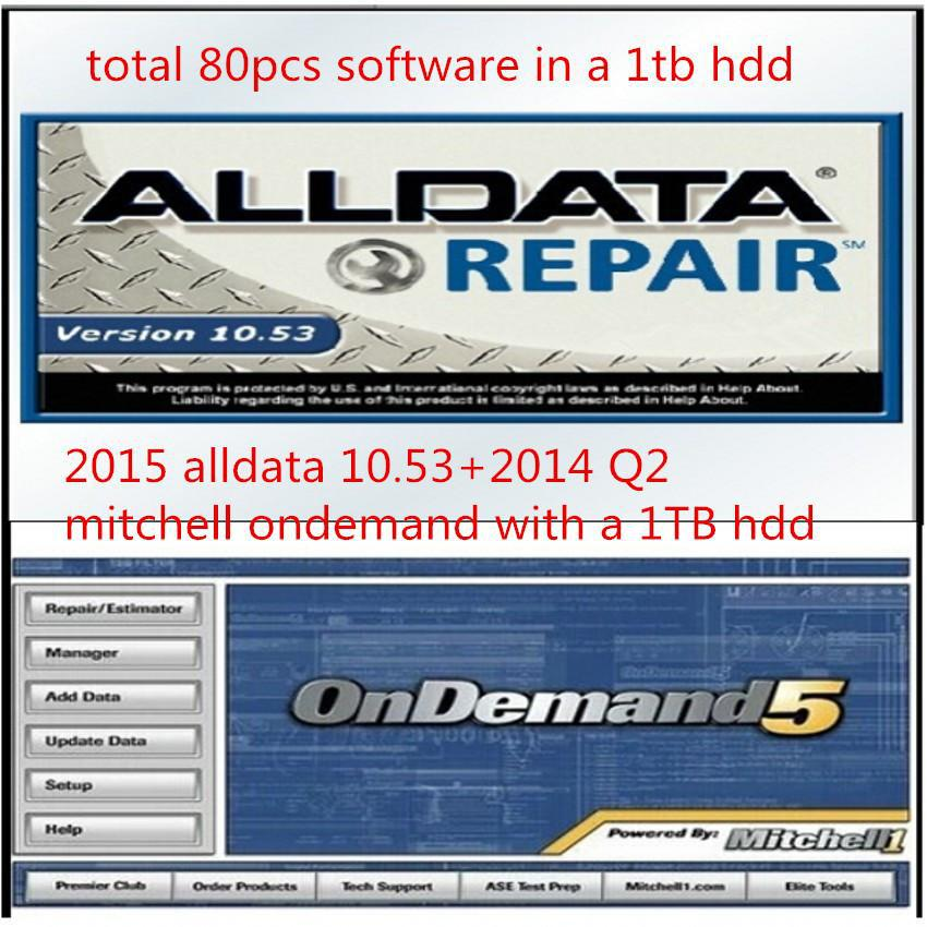80 in1 with 1TB usb HDD 2014 fit win7 win8 Alldata 10.53+145gb Mitchell 2014Q2 +med&heavy truck +manager+tecdocs+elsas+atriss(Hong Kong)