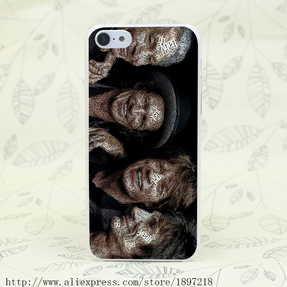 4605T The Rolling Stones Hard Transparent Cover Case for iphone 4 4s 5 5s 5C SE 6 6s Clear Cell Phone Cases(China (Mainland))