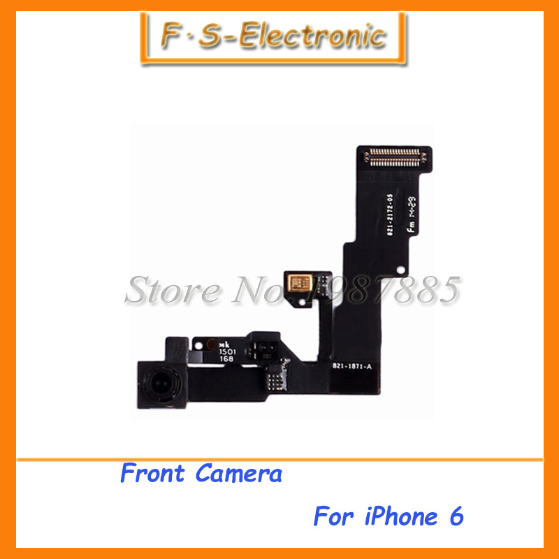 "10pcs/lot Free shipping Front Small Camera Lens Flex Cable Ribbon Replacement Part For iPhone 6 6G 4.7"" Mobile Phone(China (Mainland))"