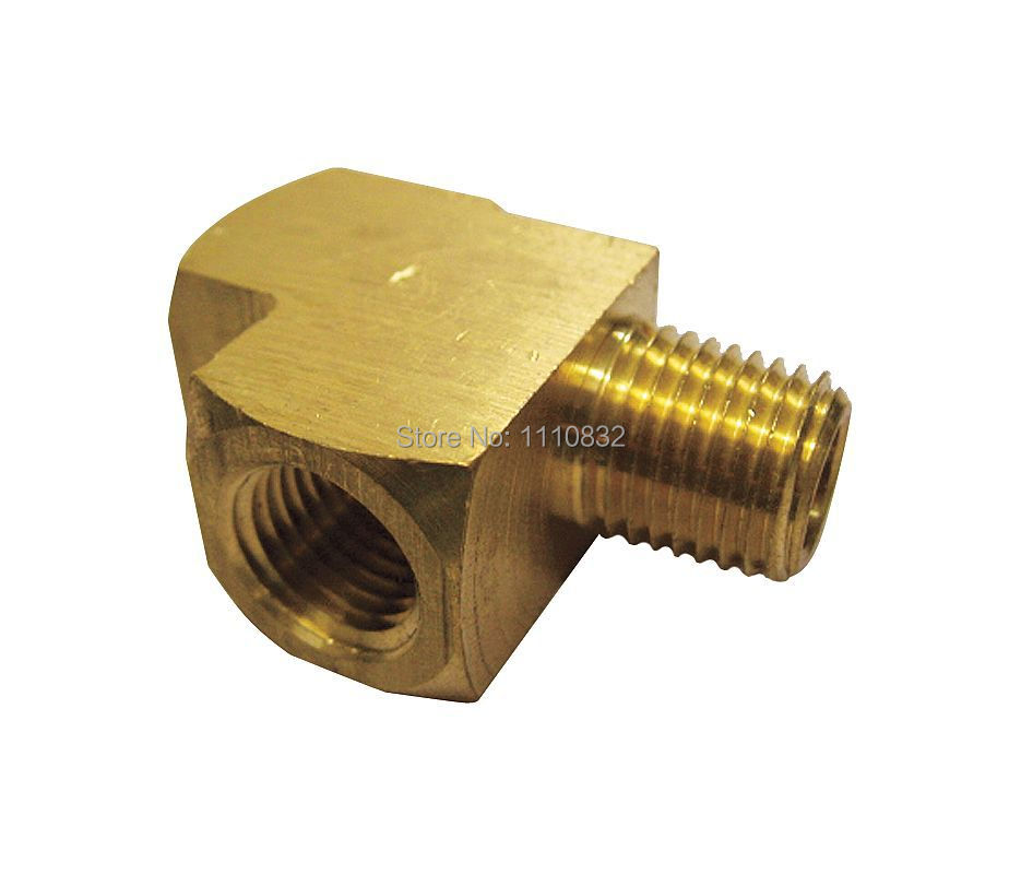 Factrory direct street run tee brass in pk npt