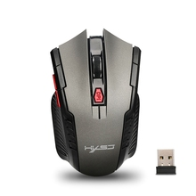 Buy Portable Optical Wireless Mouse USB Gaming Mouse Adjustable 2400DPI 6 Buttons 2.4GHZ Computer Mouse Mice Gamer PC Laptop for $4.05 in AliExpress store