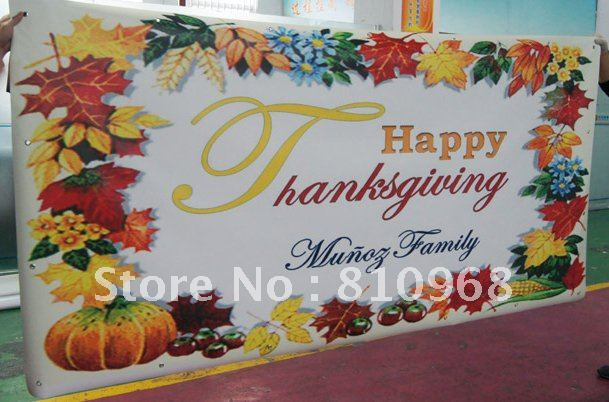 birthday banner, festival banner, Christmas Day Printing (with grommets)(China (Mainland))