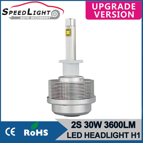 SpeedLight New Arrivals 30W 3600LM 2S Plug And Play Car LED HeadLight H7 H11 9005 9006 H1 H3 H8 H9(China (Mainland))