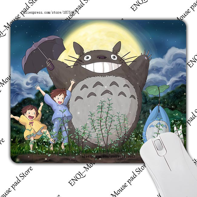 Totoro Padded Cartoon Cute Luxury Brand Desktop Pad Computer Mousepad Optical Mouse Mat Pads Durable Gamer Speed Slide Mats<br><br>Aliexpress