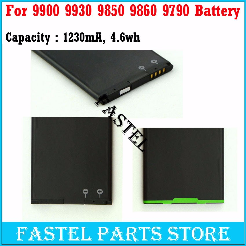 New JM1 J-M1 Li-ion Mobile Phone Battery For BB 9900/9930/9850/9860/9790 Batterie Batterij Bateria , 1230mAh