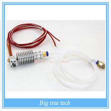 Long-distance, 3D Printer J-head Hotend for 1.75mm/3.0mm E3D Bowden Extruder 0.2mm/0.3mm/0.4mm Nozzle with PTFE tube