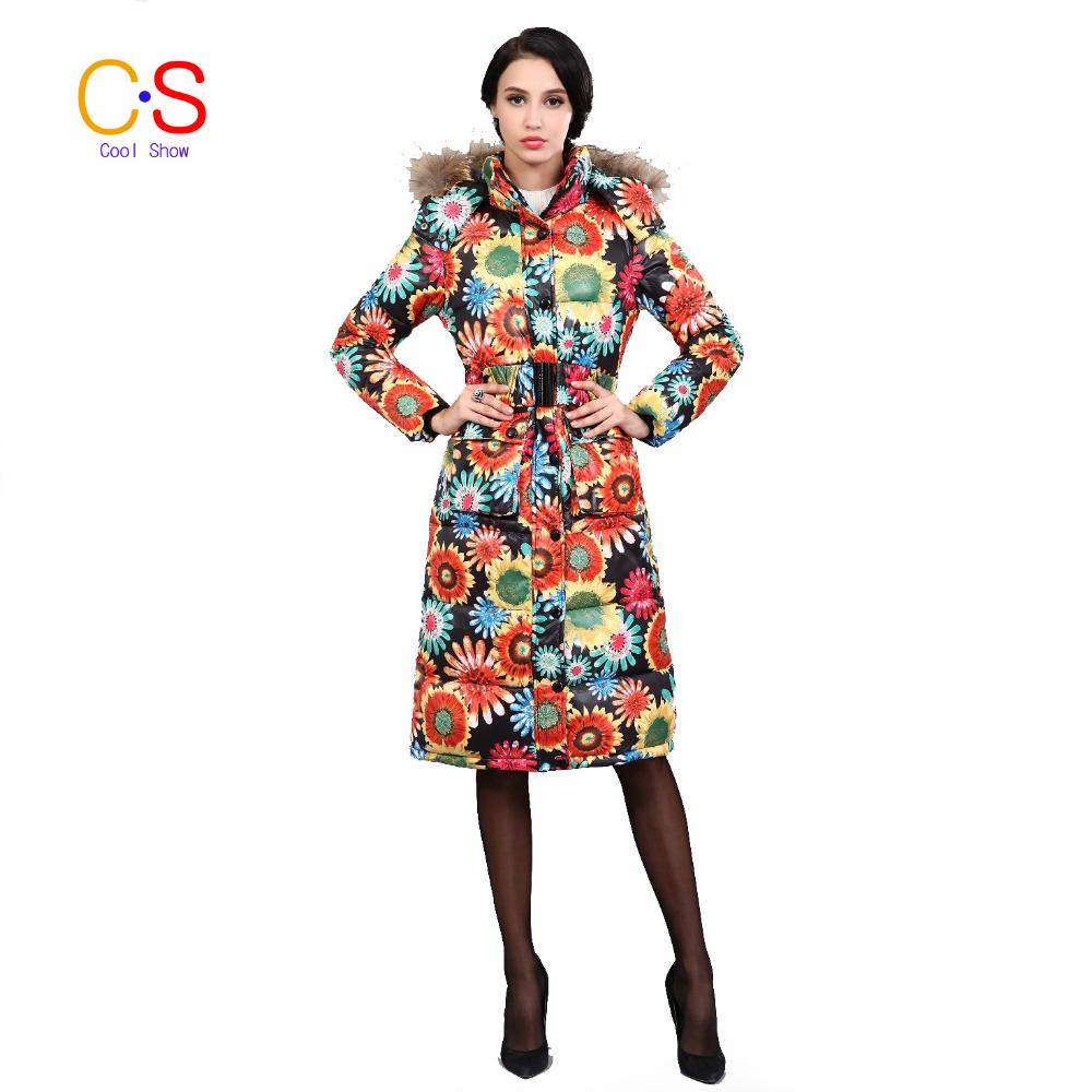 Full length coat for women