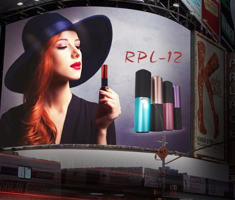 2400mAh USB Lipstick Portable Power Bank Battery Charger For Various Phone