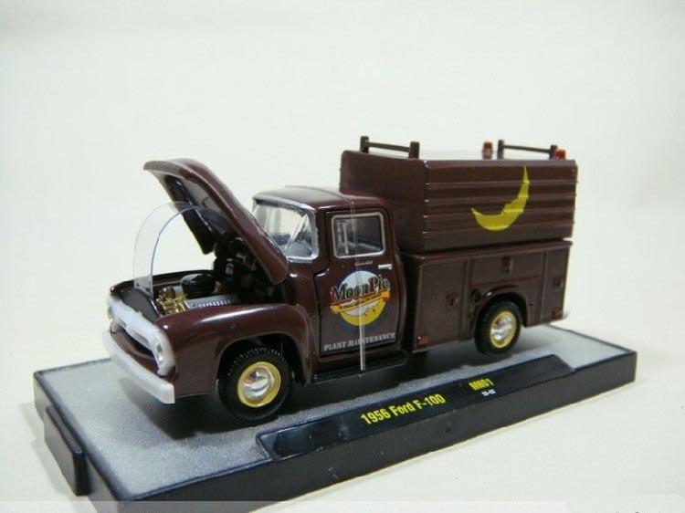 M2 Machine 1:64 1956 Ford F-100 B boutique alloy car toys for children kids toys Model gitf Original box freeshipping(China (Mainland))