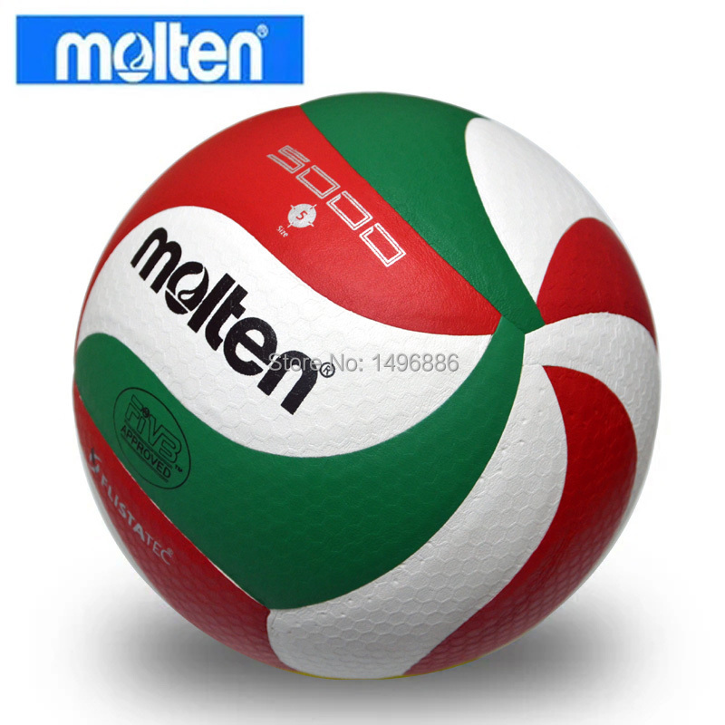 Hot sales 2015 New Brand Molten Soft Touch Volleyball ball, VSM5000, Size5 match quality Volleyball Free With Net Bag+Needle(China (Mainland))
