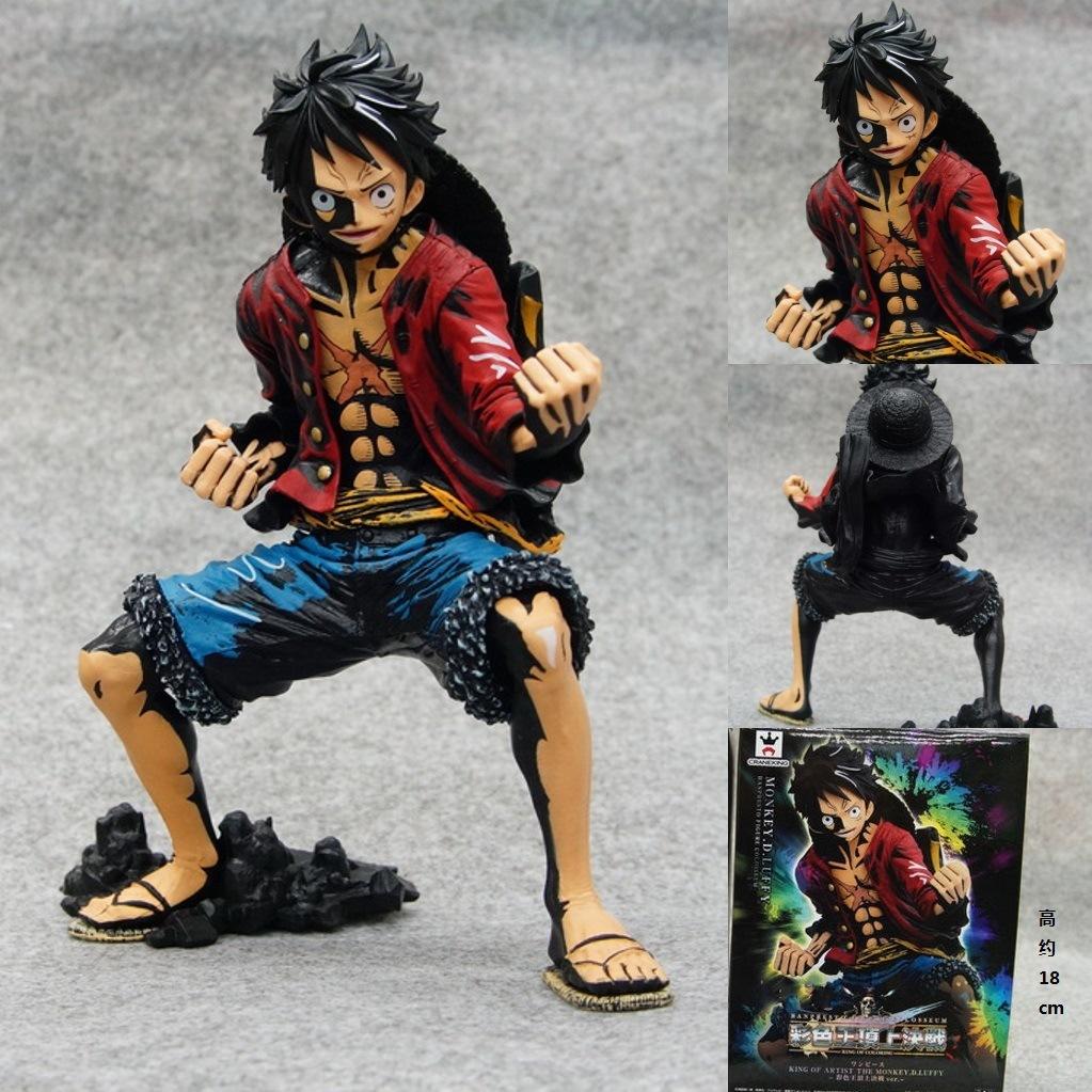 1pcs/set One Piece Figure Luffy New World Anime Figuarts Zero Monkey D Figure Japanese PVC 18CM Boxed LimitGarage(China (Mainland))
