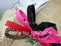 fashion long charm  headband, hair accessory, hairband ,mixed four color,10pcs/lot, girl jewelry, girl gift