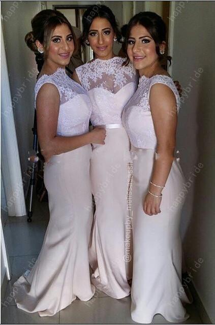 Свет шампанское высокая шея кружева платье невесты долго шифон вернуться молнии сексуальная ...