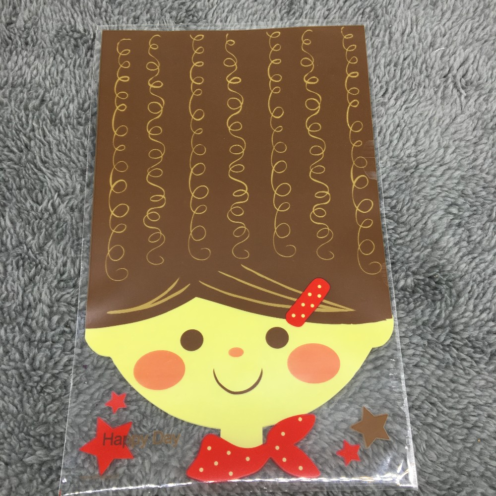 50 Cute Doll Cello Cookie Bagbakery Gift Candy Clear Cellophane Bag Pedal And Craig Anderton S Wah Anti Design Gives Good Wovel Sounds Pb64 12x19cm Us477
