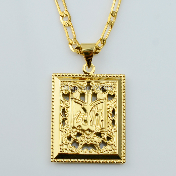 the gallery for gt gold chain pendant design for men