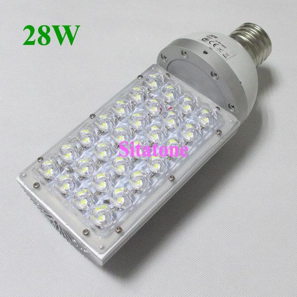 E27 E40 28W LED street light,3360LM,3 years warranty,28*1W LED STREETLIGHT(China (Mainland))