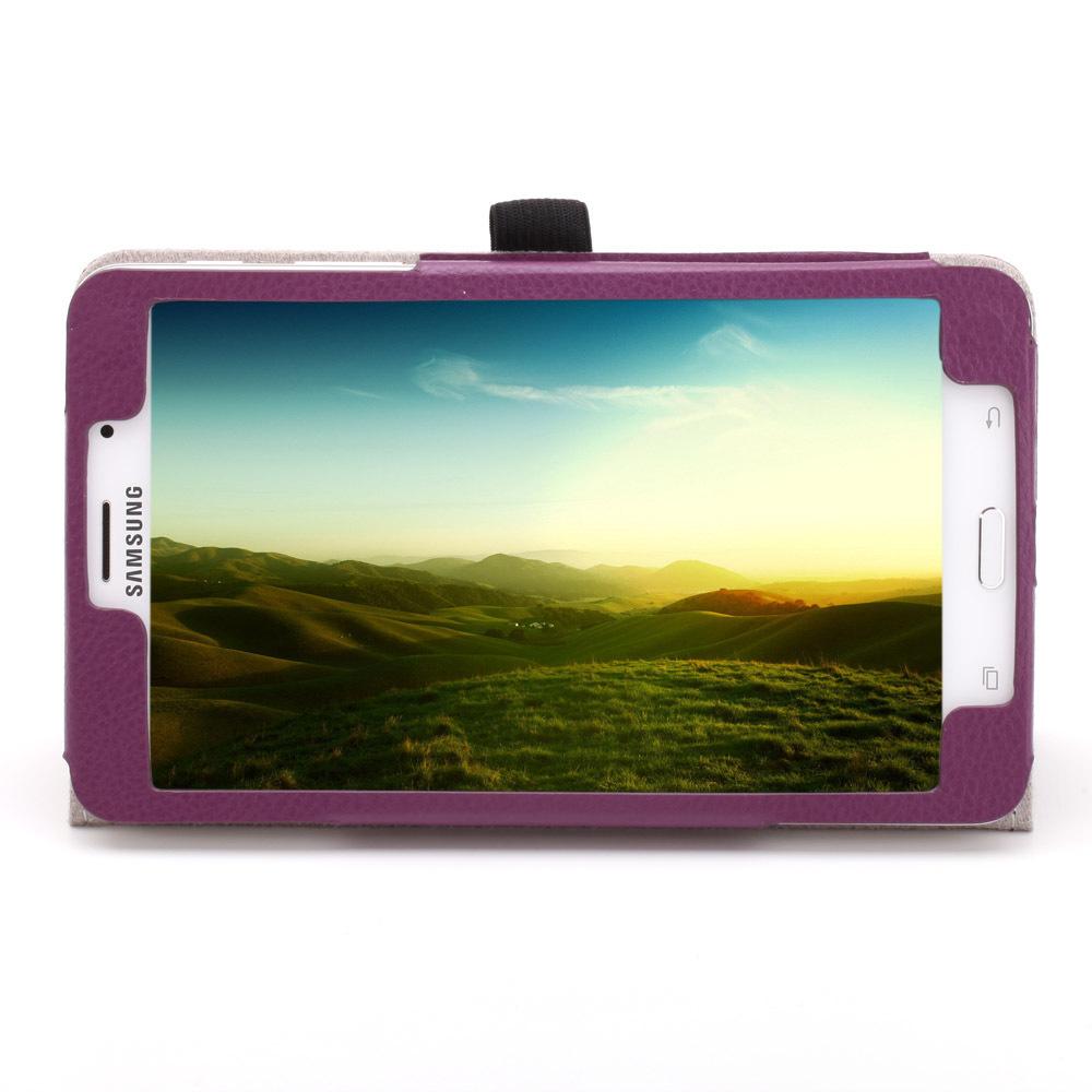 2014 New PU en cuir entreprise se housse tablette Samsung Galaxy Tab 4 7.0 T230 T231 dans Couvre