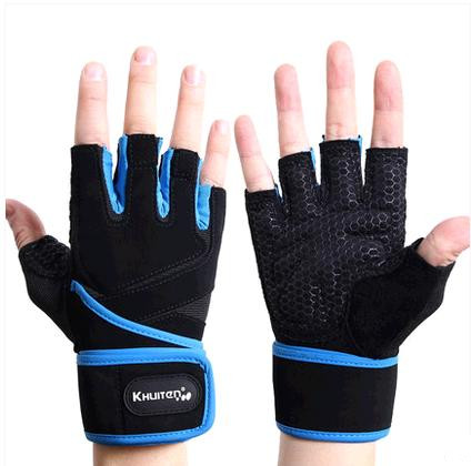2015 Half Finger Fitness Gloves Outdoor Fun & Sports Leather Gym - Howard Liu's store
