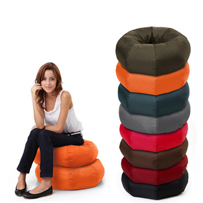 FREE SHIPPING cute kids loop bean bag indoor relaxation beanbags child chair sofa cover via China post air mail without filling()