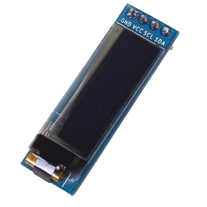 "0.91 inch 128x32 I2C IIC Serial Blue OLED LCD Display Module 0.91"" 12832 SSD1306 LCD Screen for Arduino(China (Mainland))"