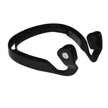 Wireless NFC Bluetooth Stereo Bone Conduction Headphone Headset with Built-in Microphone for Smartphone Tablet