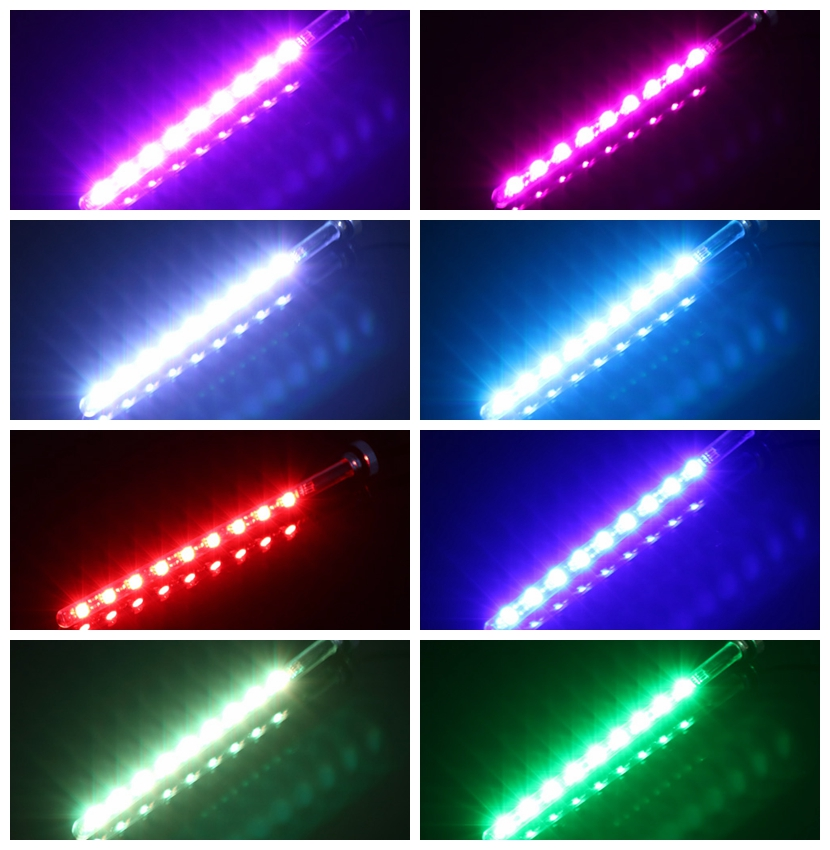 Barrow RGB full color LED quartz glass Water tank with a remote control lighting components FDTLZ()