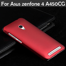 Ultra Thin SLIM Frosted Matte Back cover Hood Hybrid Hard Plastic Case For Asus Zenfone 4 A450CG 4.5″ phone case