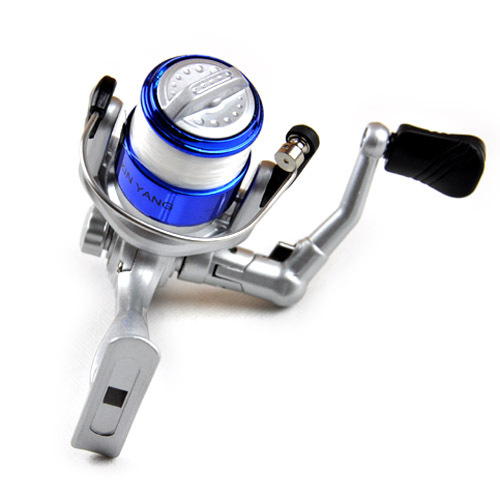 HT1000 Mini spinning reel Fishing Reel Plated Head free shipping