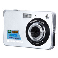 18 Mega Pixels CMOS 2.7 inch TFT Screen HD 720P Digital Camera 8x Zoom SD card Anti-shake Photo Video Camcorder High Quality(China (Mainland))