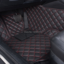 Car Foot Mats Case for KIA Carens Cerato Forte Sportage Sorento Mohave Soul RIO K2 K3 K5 Foot Rugs Customized Auto Carpets(China (Mainland))