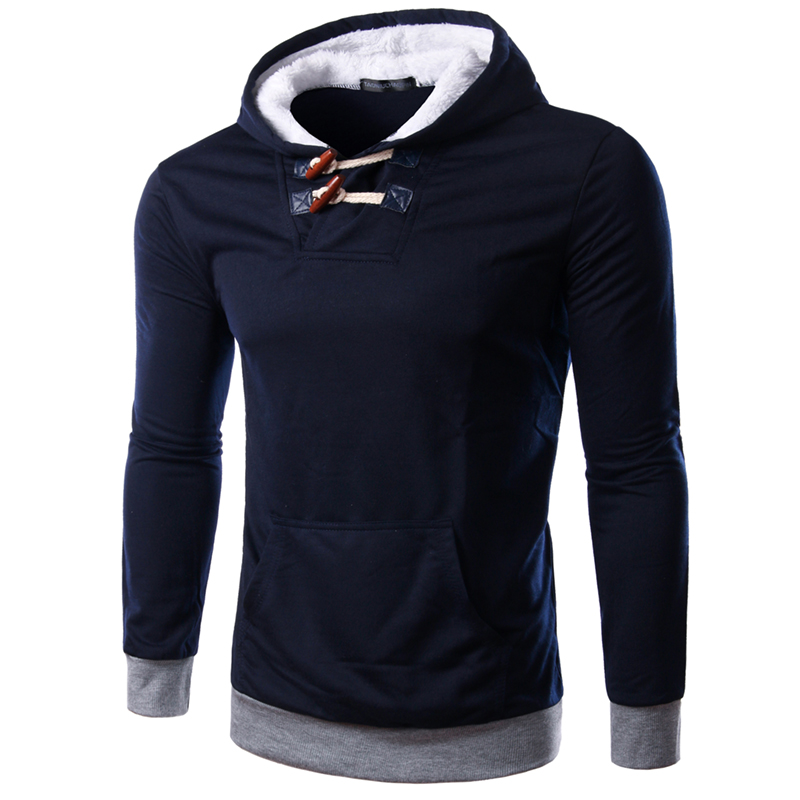 New Arrived Spring Autumn Men Solid Pullovers Hoodies With Hat Best Selling Young Boys Sports Casual Sweatshirt BW1812(China (Mainland))