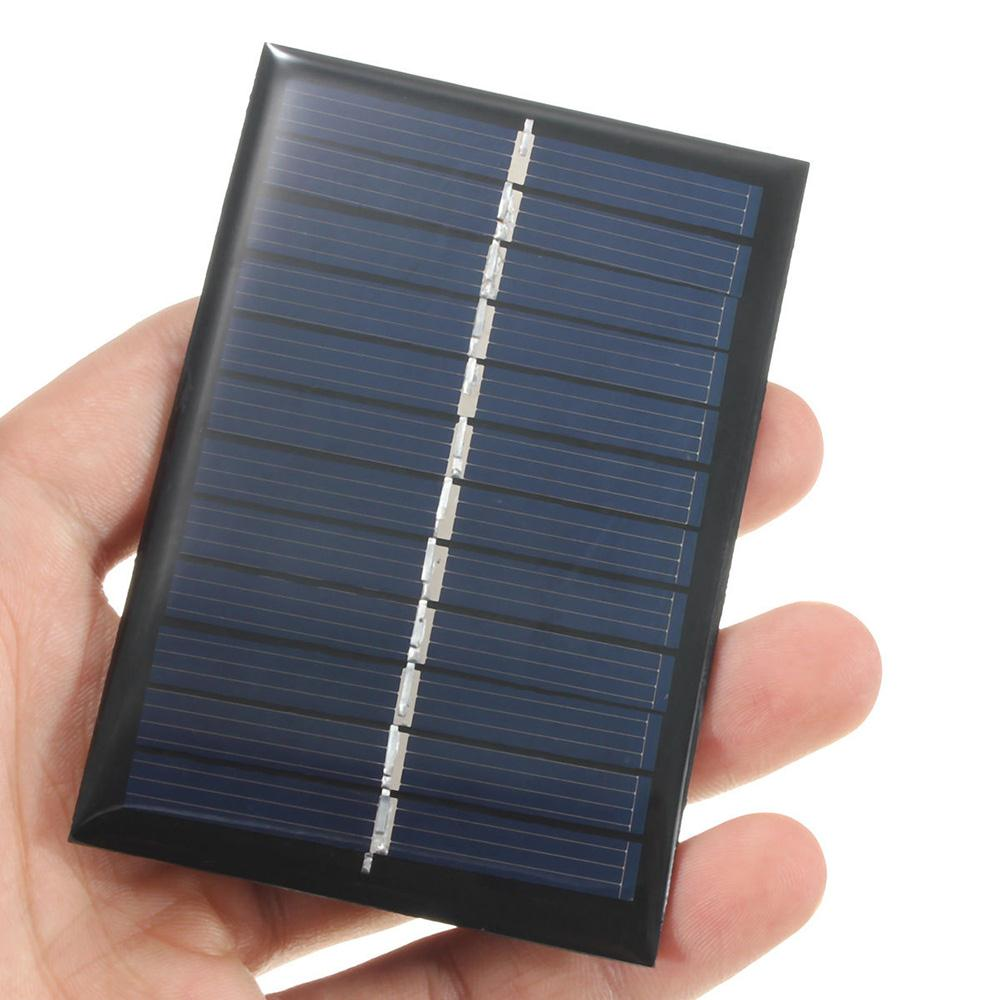 6V 0.6W Solar Panel Solar Power Panel Poly Module DIY Small Cell Charger For Light Phone Toy Portable Drop Shipping(China (Mainland))