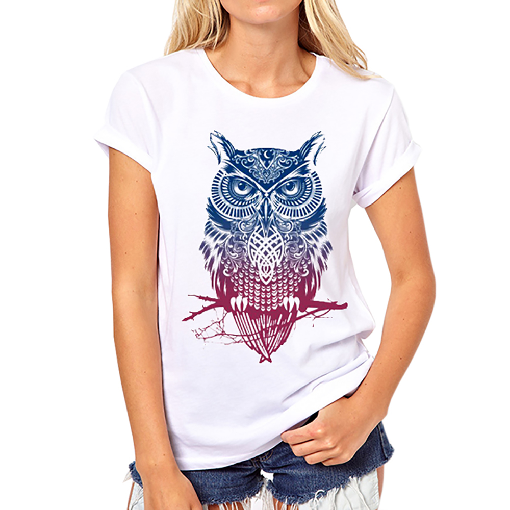 Wholesale fashion woman new pattern animal 3d colourful for Wildlife t shirts wholesale