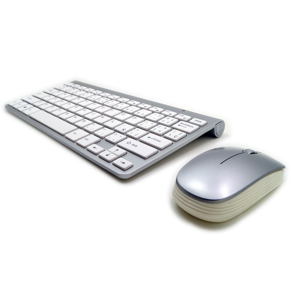 Ultra-Thin High Quality Russian Keyboard Wireless Keyboard Mouse Combo 2.4G Wireless 1200DPI Mouse for Mac Win XP/7/8/10 Tv Box(China (Mainland))
