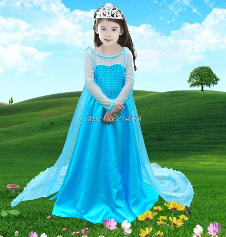 Vestidos para las niñas adolescente navidad trajes de Cosplay del partido de la princesa vestido de