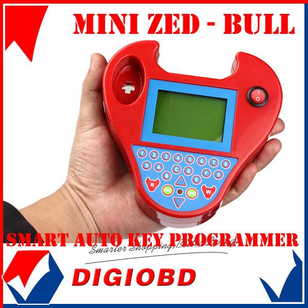 Super 2013 Mini Version ZedBull Smart Zed-Bull Auto Key Transponder Programmer ZED BULL Car Key  tool