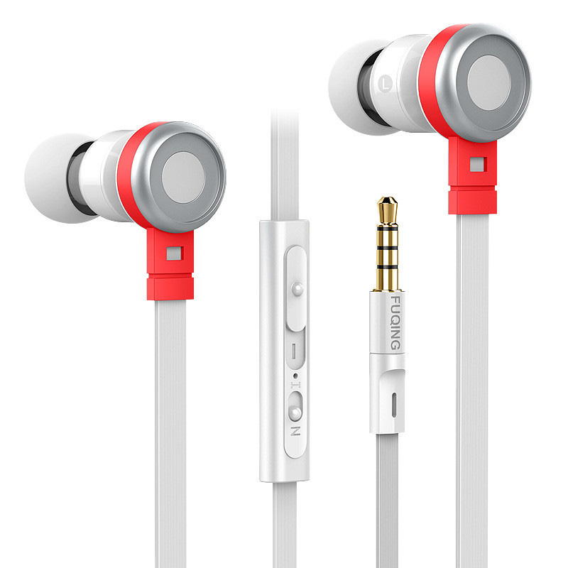 2016 New C1 Wire Control Earphone For Mobile Phone Factory Price Good Sound Stereo Headphone With Microphone Noddle Cable(China (Mainland))